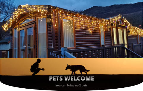 OPEN ALL YEAR ROUND  PETS WELCOME You can bring up 2 pets